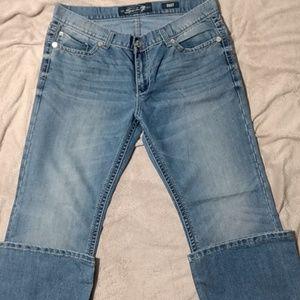 Men's Seven7 jeans bootcut 38/32